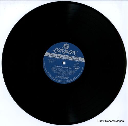 CHACKSFIELD, FRANK immortal serenades GT540 - disc