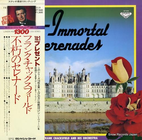CHACKSFIELD, FRANK immortal serenades GT540 - front cover
