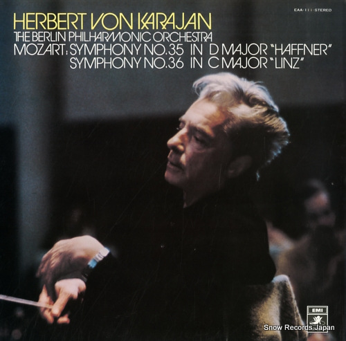 KARAJAN, HERBERT VON mozart; symphony no.35