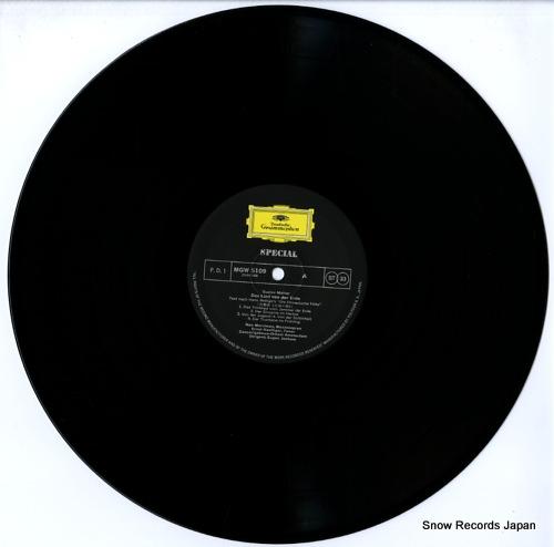 JOCHUM, EUGEN mahler; das lied von der erde MGW5109 - disc