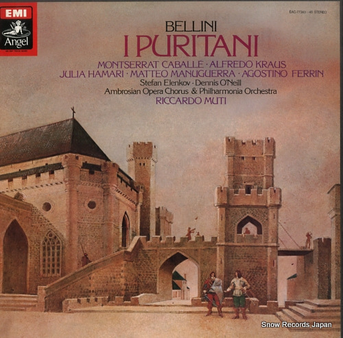 MUTI, RICCARDO bellini; i puritani EAC-77343-45 - front cover