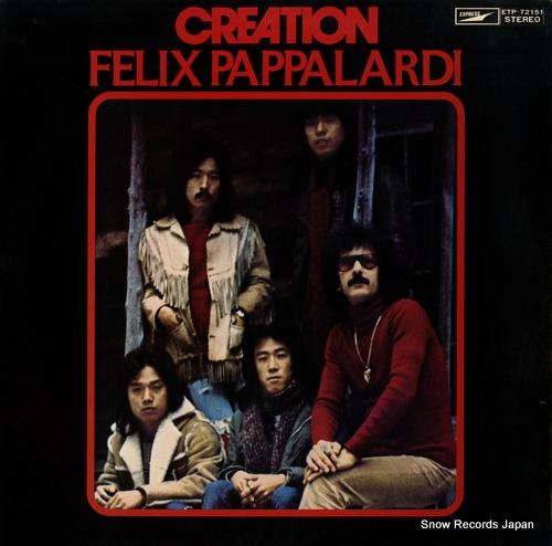 CREATION felix pappalardi ETP-72151 - front cover