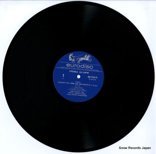GALWAY, JAMES mozart; die flotenkonzerte kv313/314 OQ-7254-K - disc
