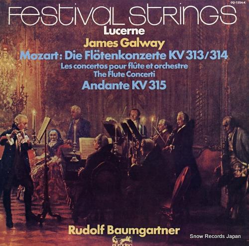 GALWAY, JAMES mozart; die flotenkonzerte kv313/314 OQ-7254-K - front cover