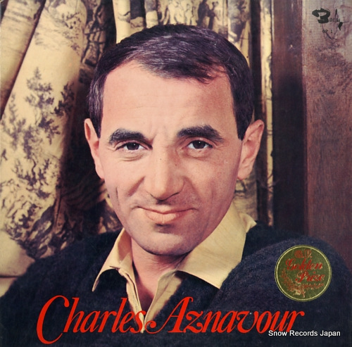 AZNAVOUR, CHARLES golden prize GP1 - front cover