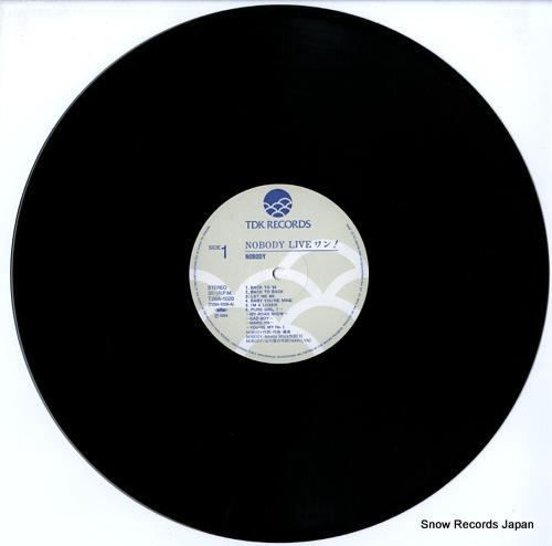 NOBODY nobody live wan T28A-1028 - disc