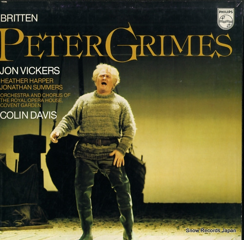 DAVIS, COLIN britten; peter grimes X-7950-52 - front cover