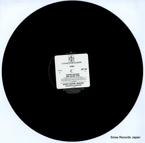 DEUTEKOM, CRISTINA great mozart arias CFP164 - disc