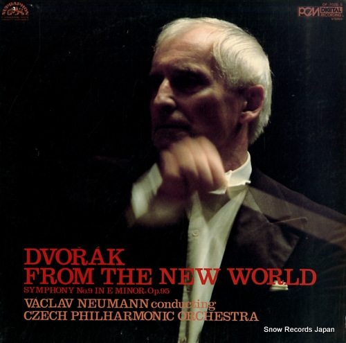 NEUMANN, VACLAV dvorak; from the new world OF-7026-S - front cover