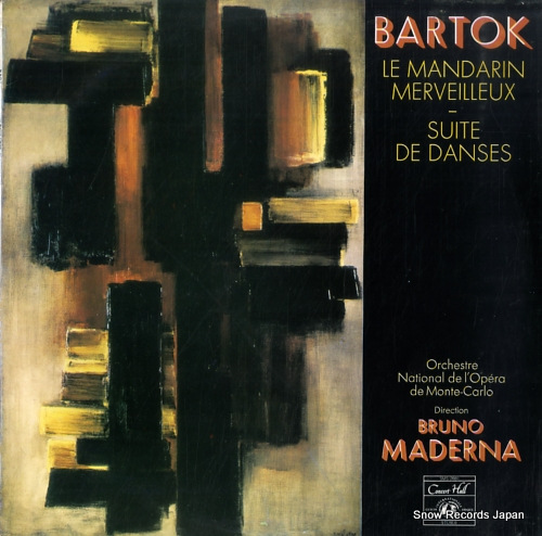 MADERNA, BRUNO bartok; the miraculous mandarin SMS-2660 - front cover
