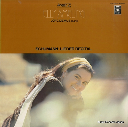 AMELING, ELLY schumann; lieder recital EAC-70224 - front cover