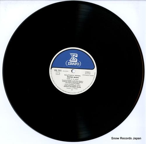 PAILLARD, JEAN-FRANCOIS haendel; water music ERA-2001 - disc
