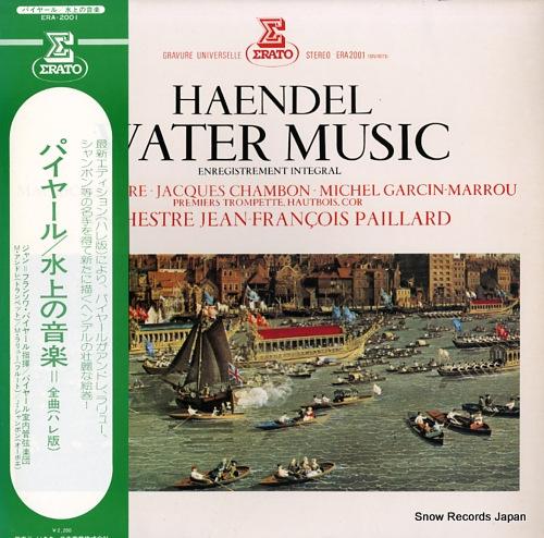 PAILLARD, JEAN-FRANCOIS haendel; water music ERA-2001 - front cover