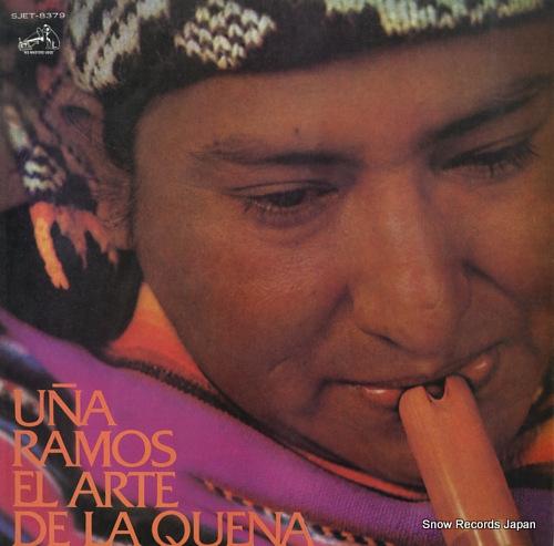 RAMOS, UNA el arte de la quena SJET-8379 - front cover