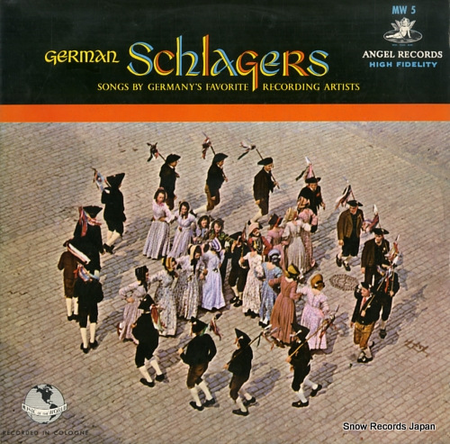 V/A german schlagers MW5 - front cover