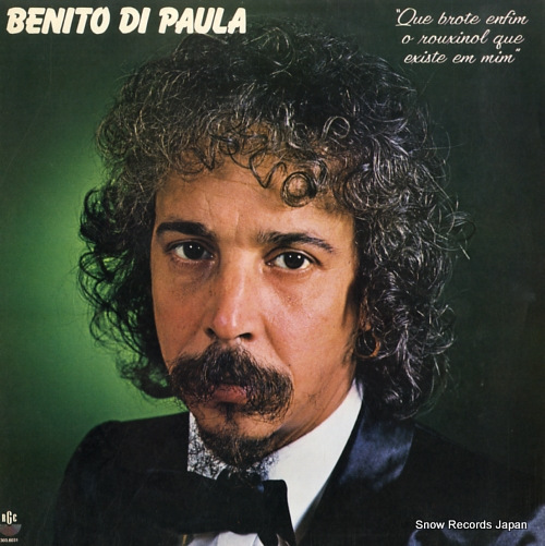 BENITO DE PAULA - benito de paula - LP