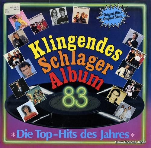 V/A klingendes schlageralbum '83 469593 - front cover