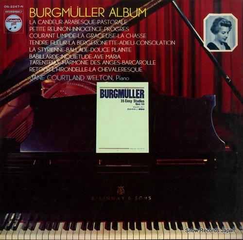 WELTON, JANE COURTLAND burgmuller album OS-2247-N - front cover