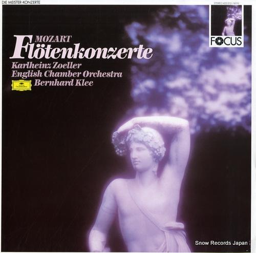 KLEE, BERNHARD mozart; flotenkonzerte 423012-1GFO - front cover