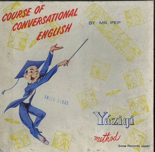 MR. PEP course of conversational english YLP-1000/4 - front cover