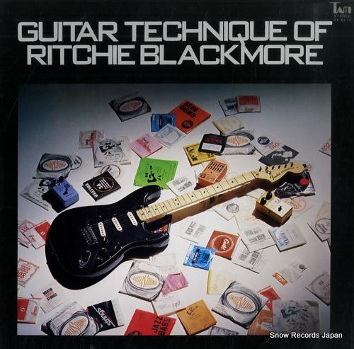 小林克己 ギター・テクニック・オブ・リッチー・ブラックモア YX-6114