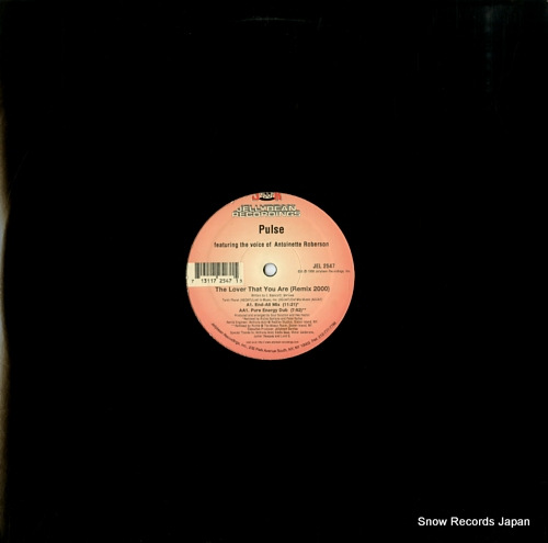 PULSE the lover that you are (remix 2000) JEL2547 - front cover