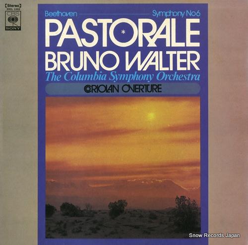 WALTER, BRUNO beethoven; symphony no.6