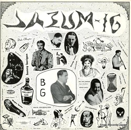 GOODMAN, BENNY benny goodman JAZUM-16 - front cover