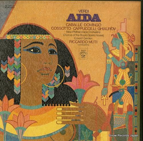 リッカルド・ムーティ ヴェルディ:歌劇「アイーダ」全曲 EAC-77034-36