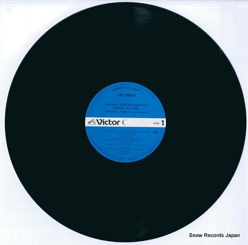 CLAYDERMAN, RICHARD concerto pour une jeune fille nommee je t' aime VIP-28014 - disc