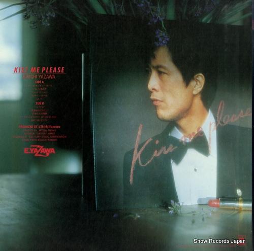 YAZAWA, EIKICHI kiss me please 25AH734 - back cover