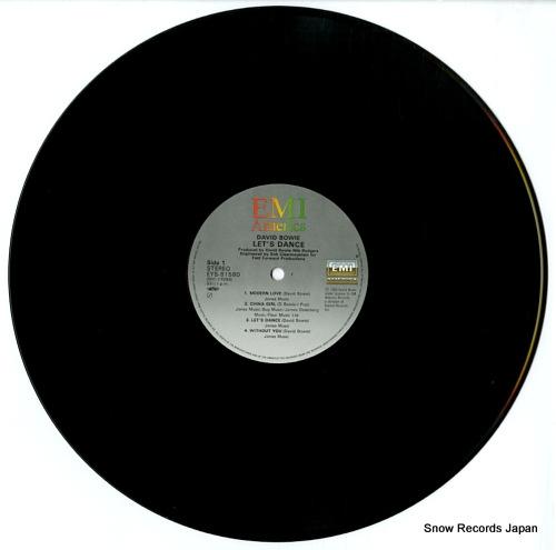 デビッド・ボウイ レッツ・ダンス EYS-81580