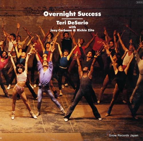 DESARIO, TERI overnight success 28.3H-154 - front cover