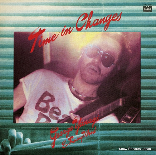 YANAGI, GEORGE time in changes BMC-4001 - front cover