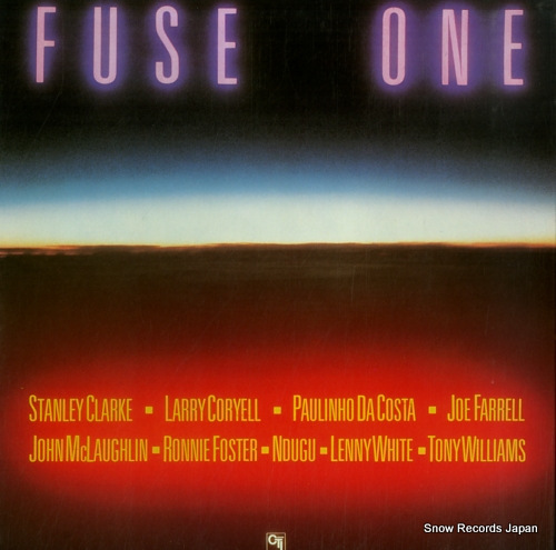 FUSE ONE fuse one K26P-6020 - front cover
