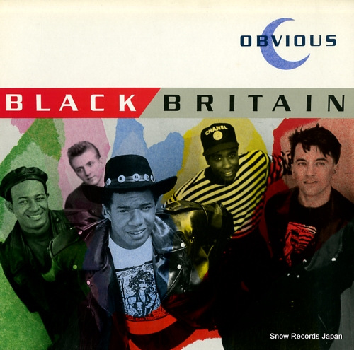 BLACK BRITAIN obvious DIX30 - front cover