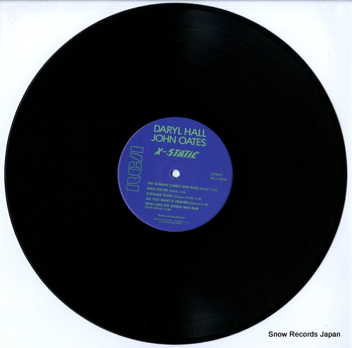 HALL, DARYL, AND JOHN OATES x-static AFL1-3494 - disc