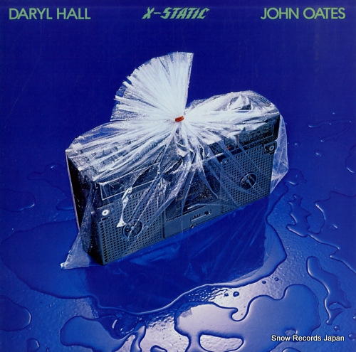 HALL, DARYL, AND JOHN OATES x-static AFL1-3494 - front cover