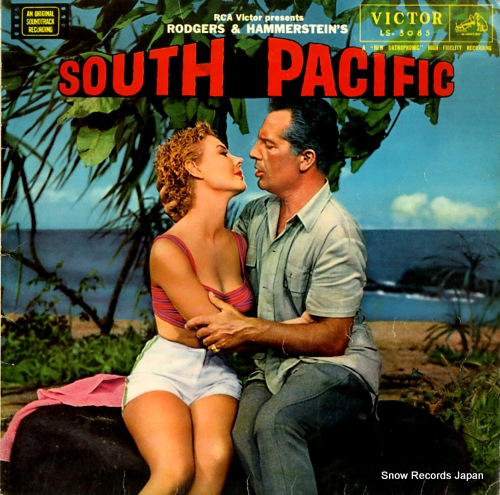 NEWMAN, ALFRED south pacific LS-5085 - front cover