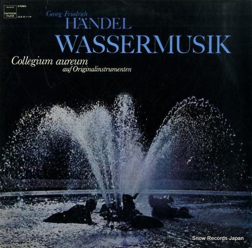 COLLEGIUM AUREUM handel; wassermusik ULS-3111-H - front cover