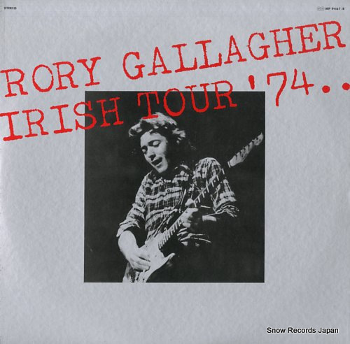 GALLAGHER, RORY irish tour '74 MP9467/8 - front cover