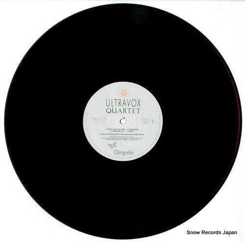 ULTRAVOX quartet WWS-81531 - disc