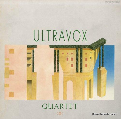 ULTRAVOX quartet WWS-81531 - front cover