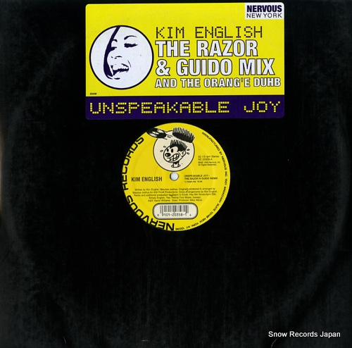 ENGLISH, KIM unspeakable joy NE20358 - front cover