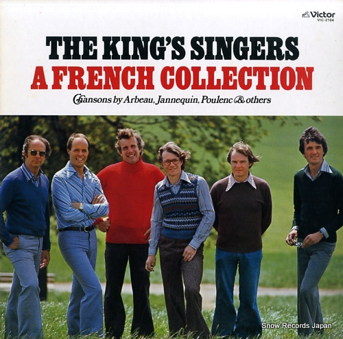 KING'S SINGERS, THE a french collection VIC-2164 - front cover