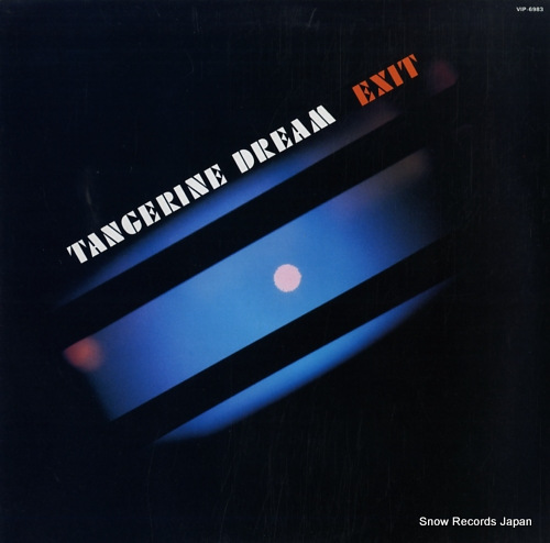 TANGERINE DREAM exit VIP-6983 - front cover