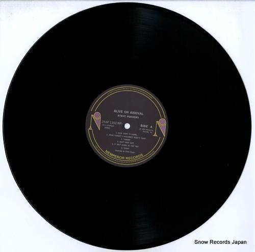 FORBERT, STEVE alive on arrival 25AP1352 - disc