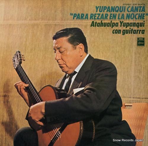 アタワルパ・ユパンキ ユパンキ「夜の祈り」を歌う EOP-80476