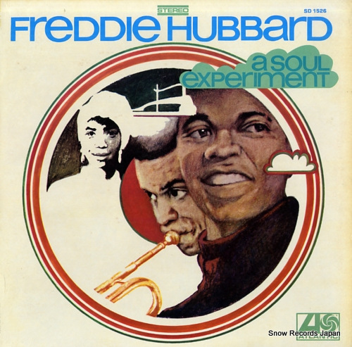 HUBBARD, FREDDIE a soul experiment SD1526 - front cover