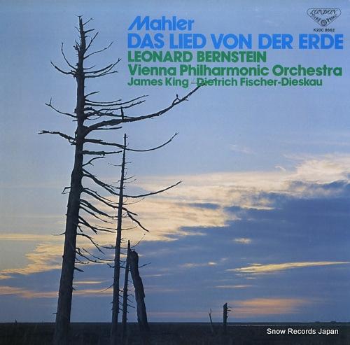 BERNSTEIN, LEONARD mahler; das lied von der erde K20C8662 - front cover